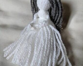 Mother Lucky Doll, Poppet, Yarn Dolly.