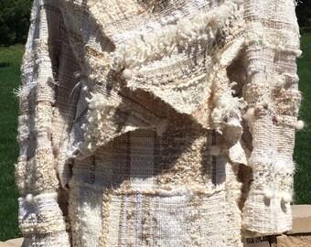 Saori handwoven bridal suit