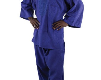 Africa  Formal Pant Set - Blue