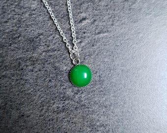 Nickel free, unique and natural Aventurine gemstone necklace