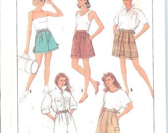 Simplicity 8630  Misses' Shorts in Three Lengths   ID286
