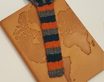 Woven bookmark