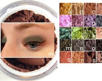 Natural LOOSE POWDER EYESHADOW *Gentle Vegan Mica-Free Eyeshadow Eyeliner* Any Color