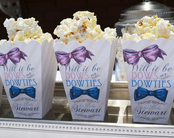Baby Shower Favors Using Popcorn ~ Baby shower popcorn etsy