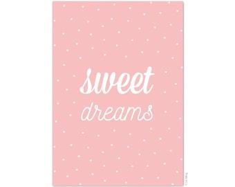 Sweet dreams postcard