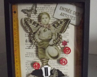 "frame box CABINET of CURIOSITIES ""entrance coaster"