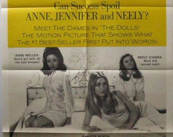 Valley Of The Dolls Original Australian 1967 One Sheet movie poster