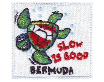Scuba Bermuda Embroidered Patch
