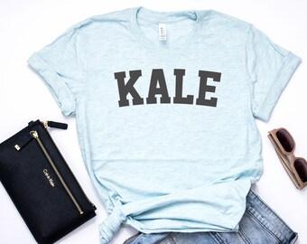 Kale Shirt, KALE, Vegan Shirt, Vegan TShirt, Vegan T Shirt, Vegan Gift, Shirt for Vegans, Vegetarian Shirt, Vegan, Bella Canvas - Item 2742