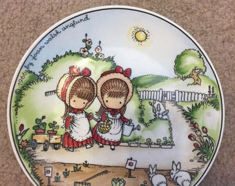 Joan Walsh Anglund Collectible Plate, 1966
