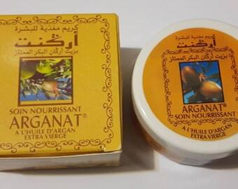 soin nourrissant alhuile d'argan Arganat facial creme moisturizer anti aging with argan oil  100 mL