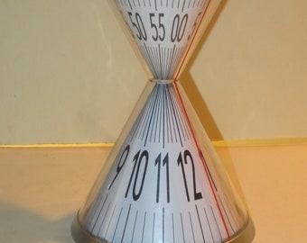 Kikkerland David Dear Hourglass Novelty Desk Clock
