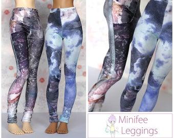 Slinky Spandex Minifee Leggings *Choose your Style*