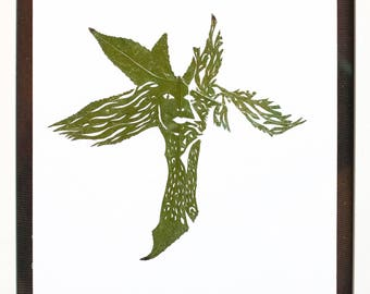ARBOLEADA, the leaves are a unique piece of nature sculpted with the technique of draught with creativity, sincerity and emotion.