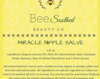 Bee Soothed: Miracle Nipple Salve