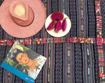 Ethnic Maya Woman's Vintage Geometric Corte/Skirt: Chichicastenago, Guatemala