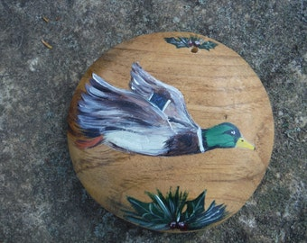 Hand made hand painted ornament