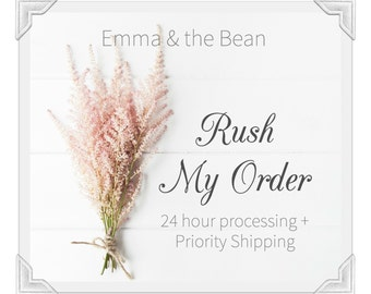 RUSH MY ORDER! - 24-48 Hour Processing for Any Shop Item