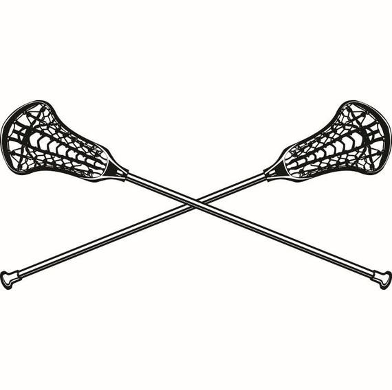 lacrosse logo 2 sticks crossed equipment field sports game outfit rh etsystudio com womens lacrosse sticks clipart womens lacrosse sticks clipart