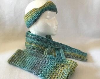 Scarf set women, scarf set, hat and scarf set, hat and scarf, hat and glove set, hat and gloves, hat and gloves set, earwarmer and scarf set