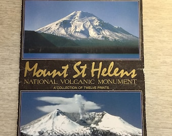 Souvenir Collection Mount St Helens 12 Postcards