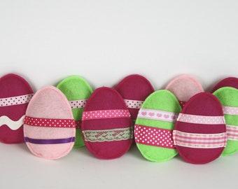Catnip  Easter Egg Cat Toys- Easter, kitty, cat gift, easter basket, easter egg, felt toy, handmade cat toy, pastel, cute cat gift, kitten