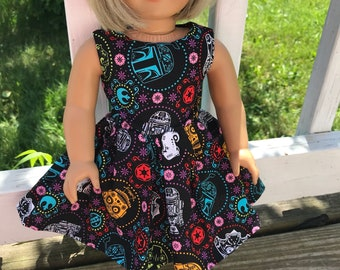 Star Wars dress to fit an American Girl doll
