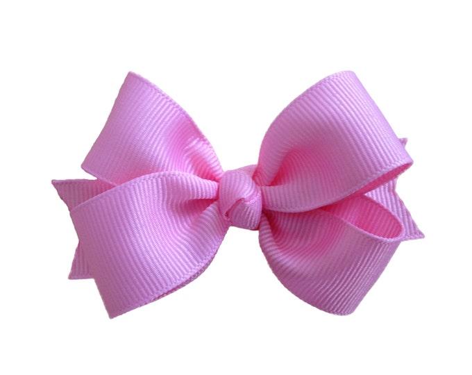 YOU PICK color hair bow - hair bows, girls bows, baby bows, girls hair bows, 3 inch hair bows, pinwheel bows, toddler bows, girl bows, bows