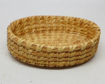Vintage  Papago Basket - Native American Basket - Vintage Indian Basket