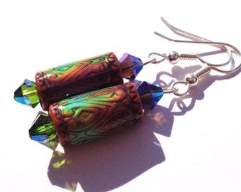 Mood Earrings, Color Change Jewelry, Mood Jewelry, Color Changing, Unique Earrings, Colorful Earrings