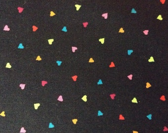 One Yard and 8 Inches of Fabric - Tiny Hearts