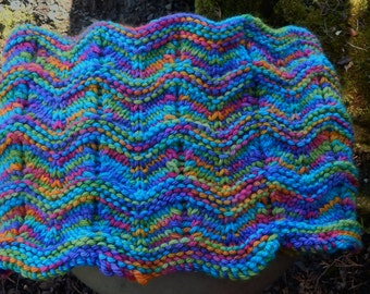 Knitting Pattern - Beneath the Waves Cowl