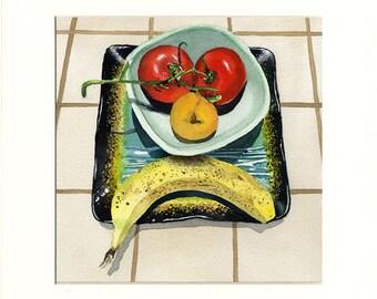 Sad Fruit 2.5 (Painting)