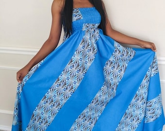 African print dress / African print maxi dress / African clothing / Ankara dress / African dress / African fashion / Maternity fashion