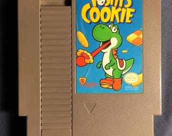 Yoshi's Cookie Nintendo NES Video Game NA Version Cartridge Only From 1993