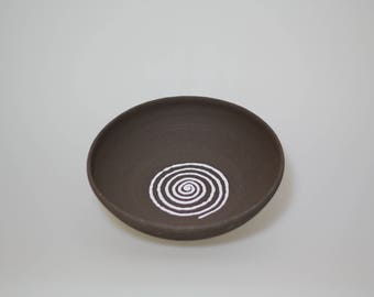 Ceramic Bowl Brown