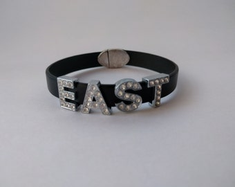 EAST Bling Bracelet with magnetic FOOTBALL clasp