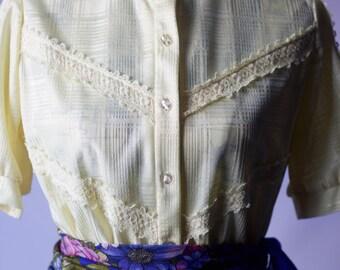 Mellow Yellow Tea length dress