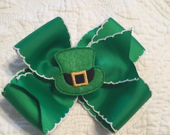 Tip O' the Hat Big Pinwheel Bow