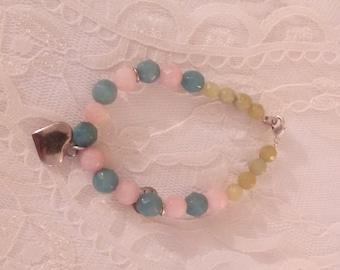 Bracelet beads multiple colors