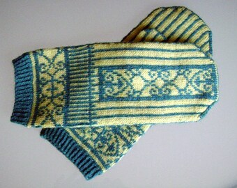 Willistead mitten pattern