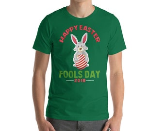 Happy Easter Fools Day April 1st 2018 Gift Shirt
