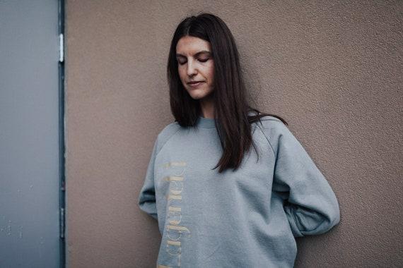 vintage mint lagerfeld sweatshirt