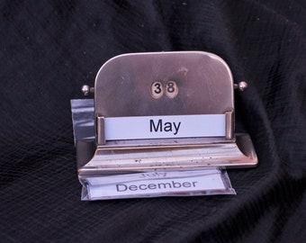 Old Desk Calendar