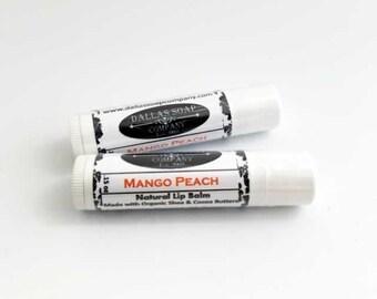 Mango Peach Lip Balm