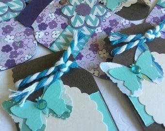 Handmade Paper Jar Tags