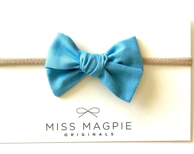 Sloane headband || true blue