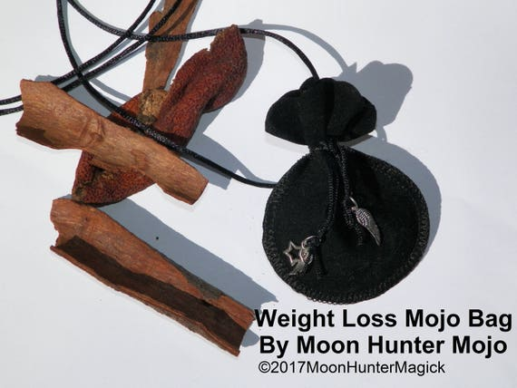 Weight Management Mojo Bag by Moon Hunter Mojo Hand Made Weight Charm Bag