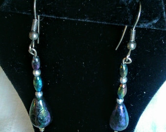 Handmade Earrings From Vintage Beads From Broken Jewelry