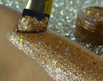 Burnt Caramel Glitter Paste - Unicorn Poop